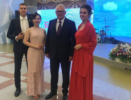 GRADUATES OF THE BELARUSIAN-RUSSIAN UNIVERSITY TOOK PART IN THE NATIONAL BALL OF GRADUATES OF HIGHER EDUCATION INSTITUTIONS